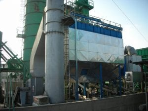 Suction Systems For The Asphalt Plant