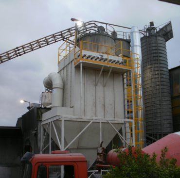 מערכות יניקה מראשי הטענה במפעלי בטון