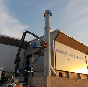 מערכות תת לחץ בתחנות מעבר פסולת