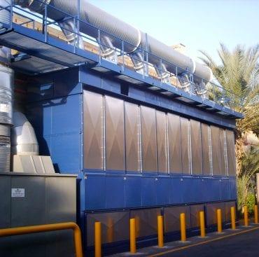 שאיבת אבק במפעלי ייצור נייר טואלט